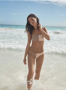 Culotte de bain classique Seashell Bicolore - PilyQ
