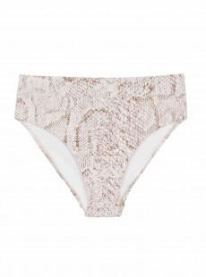 Culotte de bain classique Cobra blanc à motifs - PilyQ