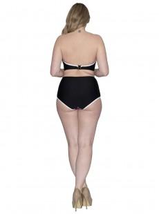 Culotte taille haute noire - Tropicana - Curvy Kate Swimwear
