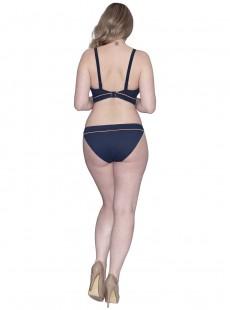 Maillot de bain triangle bleu marine - Poolside - Curvy Kate Swimwear