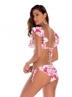 Haut de maillot de bain brassière à volants - Jasmine - Milonga