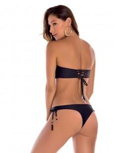 Culotte de bain brésilien noir - Palette - Milonga