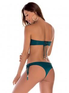 Culotte de bain brésilien vert - Palette - Milonga