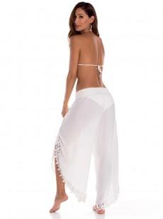 Pantalon ouvert blanc - Sienna - Milonga