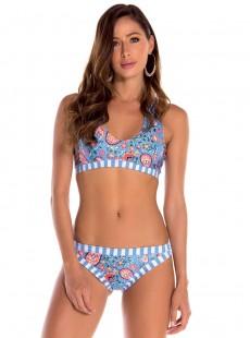 Haut de maillot de bain brassière multi-options - Sicilia - Milonga