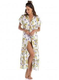 Robe longue à motifs - Riviera - Milonga