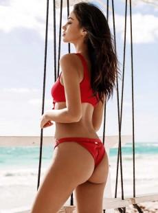 Bas de maillot de bain culotte échancrée - Rib Tide - Beach Bunny