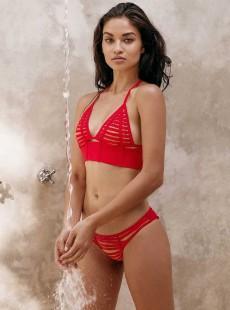 Haut de maillot de bain triangle brassière - Hard summer - Beach Bunny