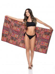 Grande serviette de plage à motifs - Accessoires - Phax
