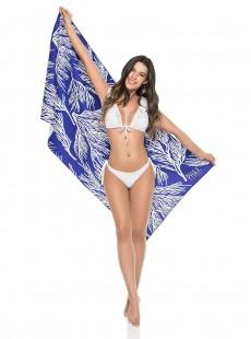 Grande serviette de plage imprimés fleuris - Accessoires - Phax