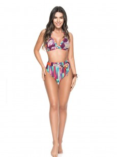 Haut de maillot de bain triangle - Grape - Phax