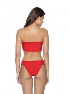 Culotte de bain classique Red Coral Rouge - PilyQ