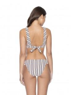 Haut de maillot de bain Fiona Harbour Stripe - PilyQ