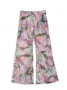 Pantalon fluides Bahamas imprimés fleuris - PilyQ