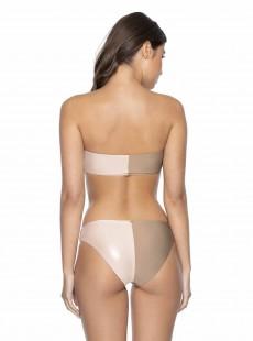 Haut de maillot de bain Bandeau Seashell Bicolore - PilyQ
