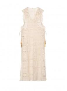 Robe de plage Ivory Blanche - PilyQ