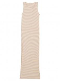 Robe de plage longue Gold Stripes - PilyQ