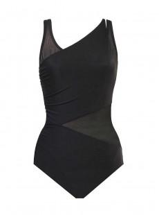 "Maillot de bain gainant Azura Noir - Illustionists - ""M"" -Miraclesuit Swimwear"