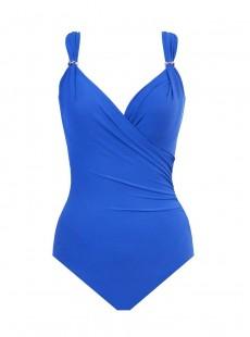 """Maillot de bain gainant Siren Bleu - Razzle Dazzle - """"M"""" - Miraclesuit swimwear"""