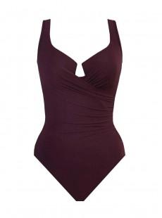 """Maillot de bain gainant Escape Bordeaux - Must haves -  """"M"""" -Miraclesuit Swimwear"""