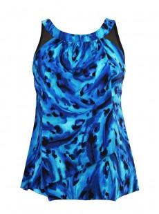 "Tankini Ursula - Ocean Ocelot -  ""M"" - Miraclesuit Swimwear"