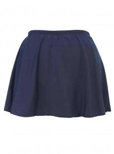 "Jupe plissée Bleu Marine - ""M""- Miraclesuit swimwear"
