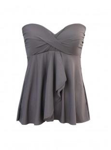 "Tankini Cadiz gris - Rock Solid - ""M"" - Miraclesuit Swimwear"