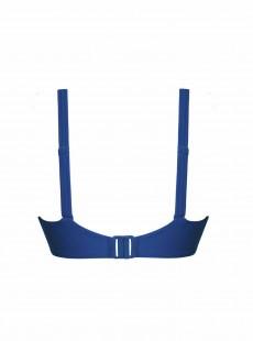 Haut de maillot de bain balconnet Sheer Class bleu - Curvy Kate Swimwear