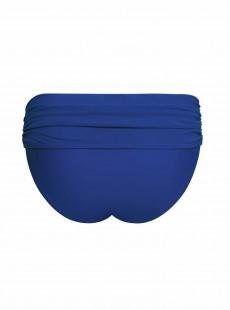 Culotte de bain taille haute Sheer Class bleu - Curvy Kate Swimwear