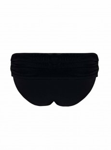 Culotte de bain à revers Sheer Class Black - Curvy Kate Swimwear