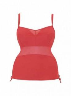 Tankini balconnet Sheer class Rouge - Curvy Kate Swimwear