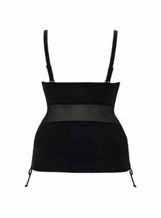 Tankini balconnet Sheer class noir - Curvy Kate Swimwear