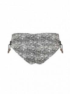 Culotte à revers Diffuse Noir et Blanc - Curvy Kate Swimwear