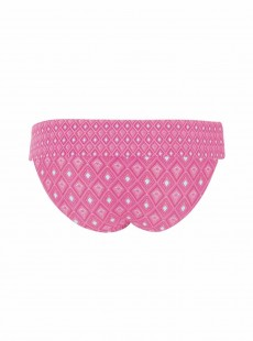 Culotte à revers Revive Pink Print - Curvy Kate Swimwear