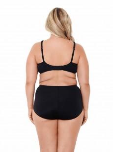 """Haut de maillot de bain Noir surplice - Solid -  """"M"""" - Miraclesuit Swimwear"""