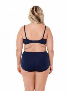 """Haut de maillot de bain Surplice bleu nuit - Solid - """"M"""" - Miraclesuit Swimwear"""