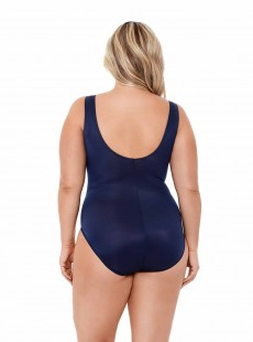 "Maillot de bain gainant Palma Bleu - Illustionists - ""W"" -Miraclesuit Swimwear"