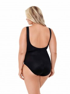 "Maillot de bain gainant Escape Noir - Must haves -  ""W"" -Miraclesuit Swimwear"