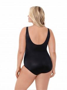 "Maillot de bain gainant Oceanus Noir - Solids - ""W"" -Miraclesuit Swimwear"