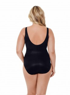 """Maillot de bain gainant Temptress Noir - Gilted As Charged - """"W"""" -Miraclesuit Swimwear"""