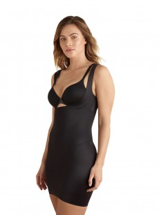 Combinaison gainante extra ferme Black - Shape Away - Cupid Fine Shapewear