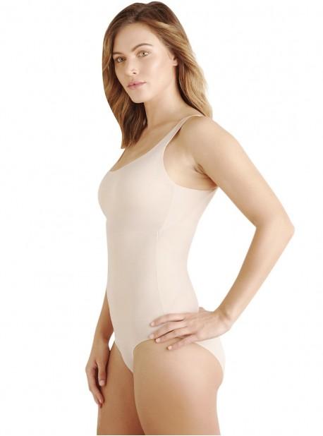 Body avec armatures tissu nude - No side show - Cupid Fine Shapewear