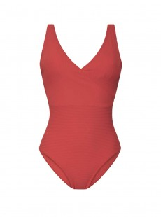 Maillot une pièce - Rib Coral - Cyell