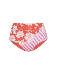 Culotte de bain Taille Haute - Iconic Flower - Cyell