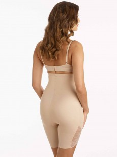 Panty gainant taille extra haute Nude - A little lace a lot of shape - Naomi & Nicole