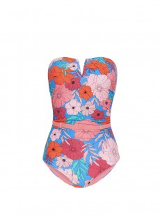 Maillot une pièce bustier - California Dream - Cyell
