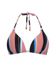 Haut de maillot de bain triangle - Stripes- Cyell