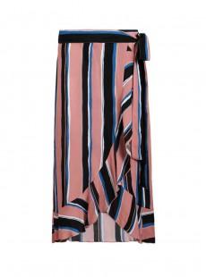 Jupe longue à volants- Stripes - Cyell