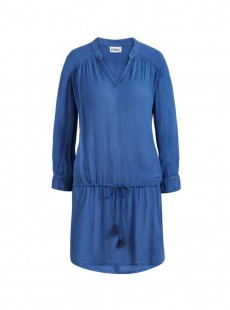 Robe de plage manches longues bleue - Beach Vibes - Cyell