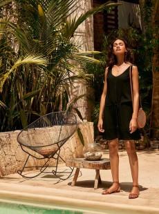 Robe de plage noire - Beach vibes - Cyell